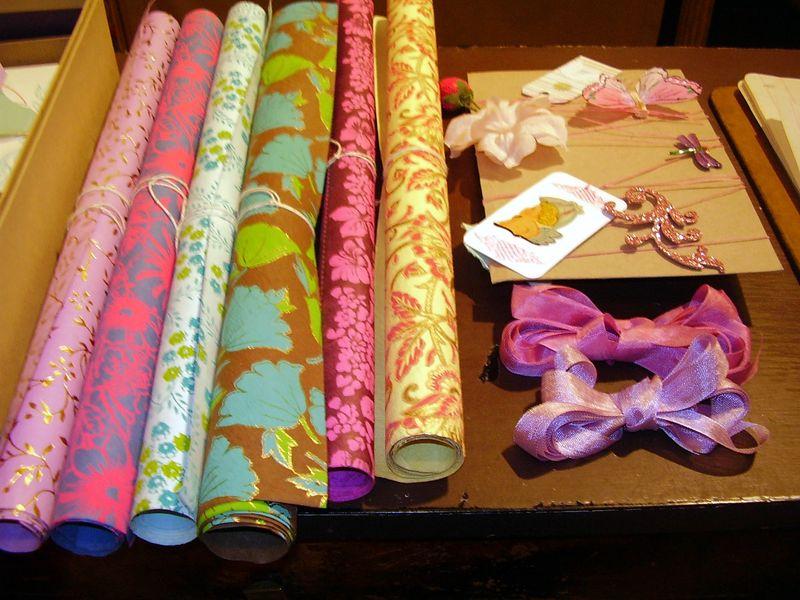 Exotic paper and fairy festoon