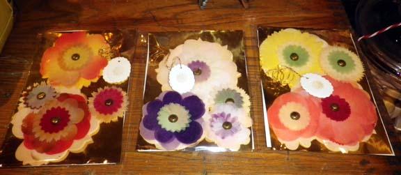 Wood fibre flower packs