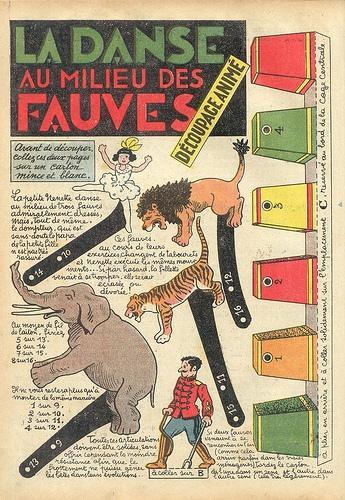 Copy (2) of circus decoupage