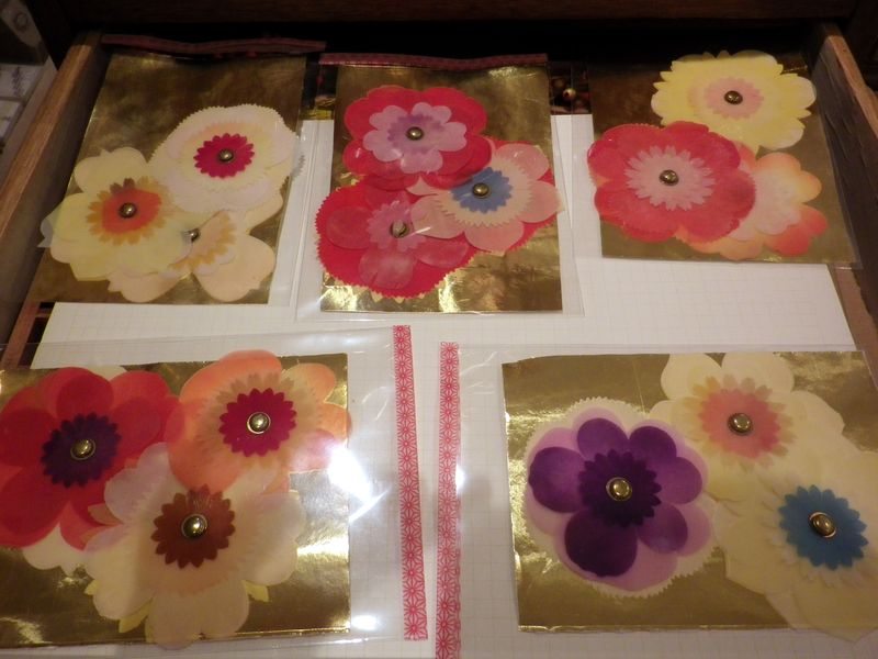 Woodfiber flower parcels