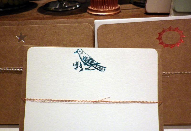 Foil pressed cards 1