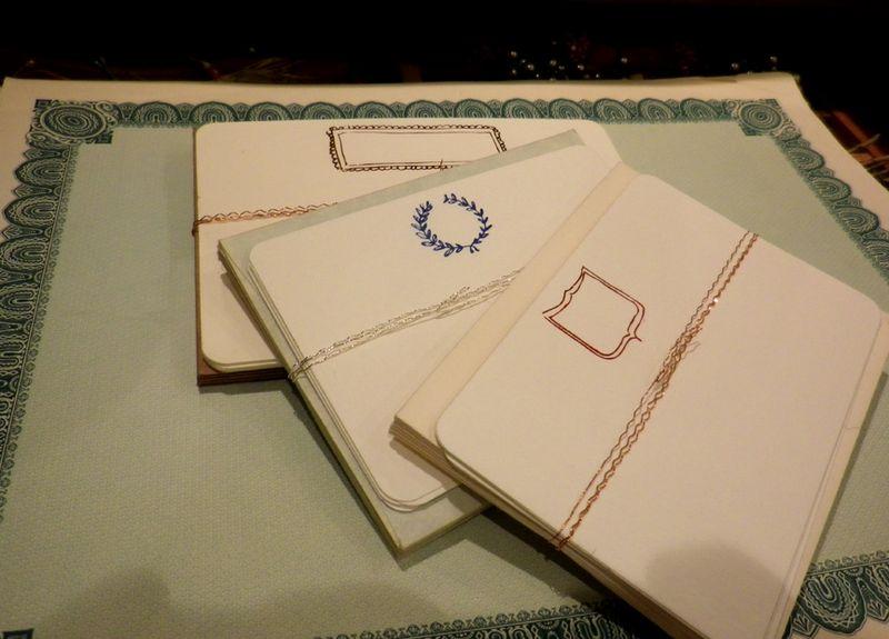 Foil pressed cards 2