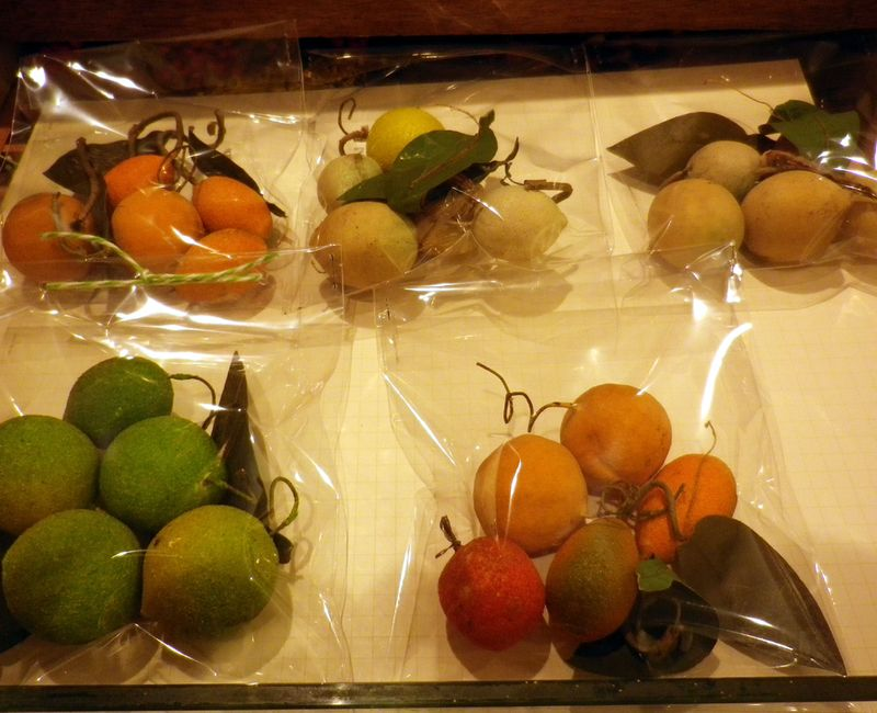 Vintage fruit parcels