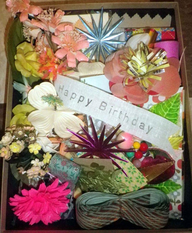 Birthday surprise theme parcel