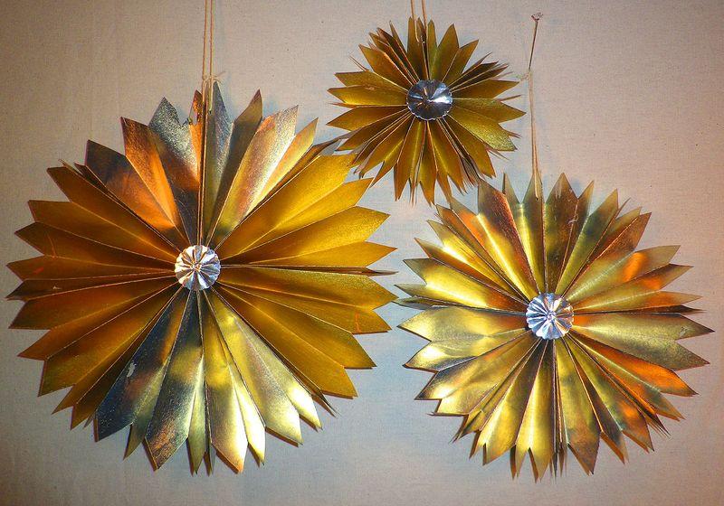 Metallic Pinwheels