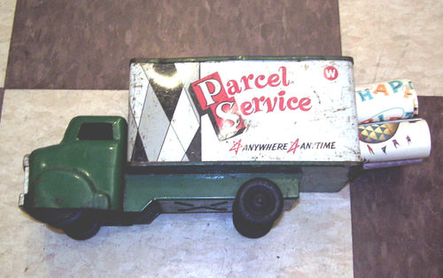 the parcel truck